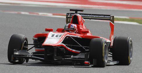 Dino Zamparelli saldrá último el domingo en GP3