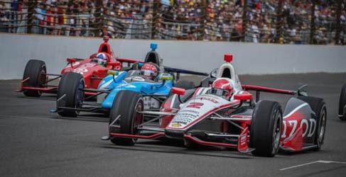 Tony Kanaan gana en la Indy500