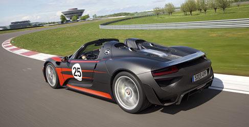 Stuttgart regala al mundo el Porsche 918 Spyder