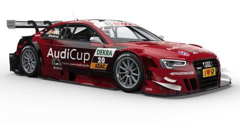 Miguel Molina luce nuevos colores en Brands Hatch