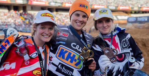 Medalla de oro para Laia Sanz en los X Games Barcelona