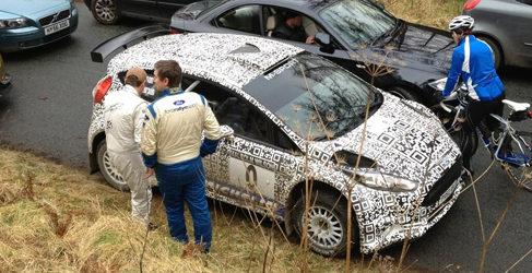 Ford Fiesta R5 en Finlandia, Citroën DS3 R5 de test en verano