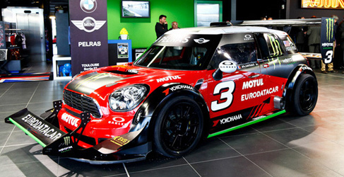 Jean-Phillipe Dayraut y su Mini Pikes Peak