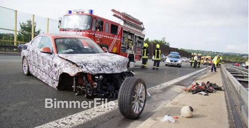 Un probador de BMW sufre un accidente con un prototipo