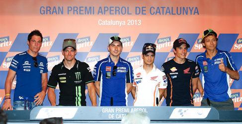 Rueda de prensa oficial GP Catalunya 2013 de MotoGP