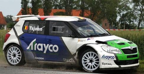 Loix, Delecour, Tsjoen y Meeke se apuntan al Ypres Rally ERC