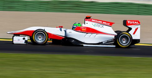 Conor Daly pole en la primera carrera de GP3 en Cheste