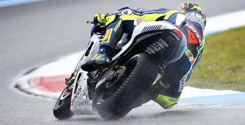Márquez en los accidentados FP2 de MotoGP en Holanda
