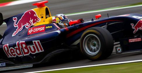 Carlos Sainz Jr comanda los libres de GP3 en Silverstone