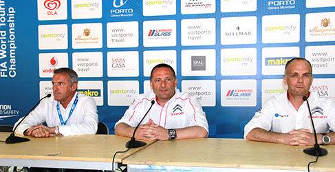 Rueda de Prensa Oporto: Citroën llegará al WTCC en 2014