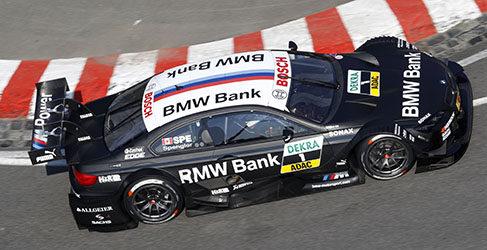 Robert Wickens saldrá desde la pole mañana en Norisring