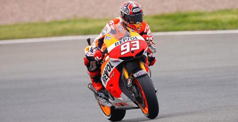 Tercera pole para Márquez de MotoGP en Sachsenring