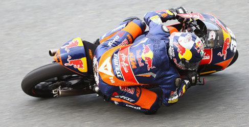 Luis Salom y Álex Rins de test Moto3 en Eslovaquia