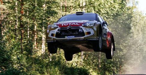 Citroën también de test para el Rally de Finlandia