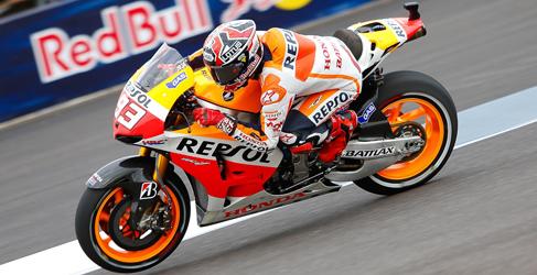 Marc m rquez no da tregua en los fp2 de motogp en for Indianapolis motors el paso tx