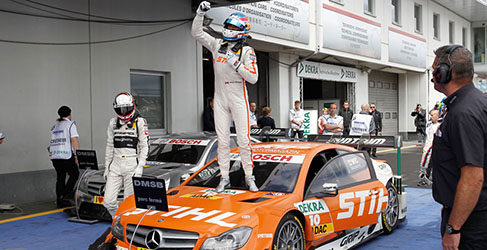 Robert Wickens logra su primera victoria en el DTM
