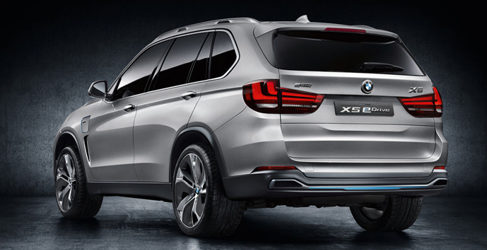 BMW X5 eDrive Concept: Alternativa híbrida