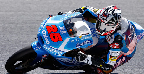 Viñales en los FP1 Moto3 de Brno por debajo del récord