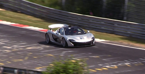 El McLaren P1 se da un paseo por el Nordschleife