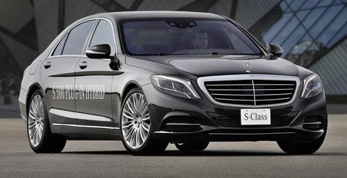Mercedes S500 Plug-in Hybrid como alternativa