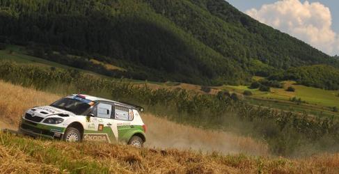 Lista de inscritos del Barum Czech Rally Zlín del ERC