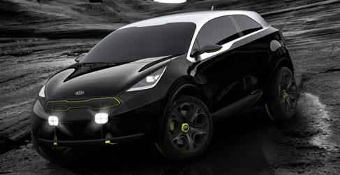 Kia Niro Concept: Propuesta de SUV compacto