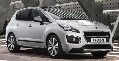 Estos son los nuevos Peugeot 3008 y 3008 HYbrid4