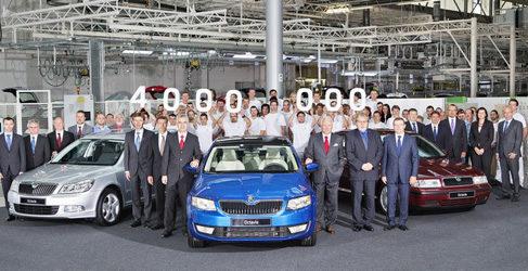 El Skoda Octavia llega a los 4 millones producidos