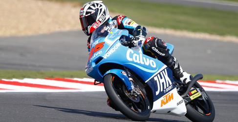 Viñales apunta a pole en los FP3 Moto3 de Silverstone