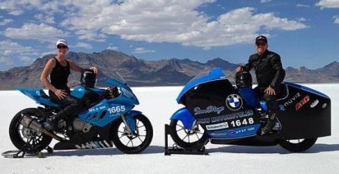 366,12 km/h para la BMW S1000RR