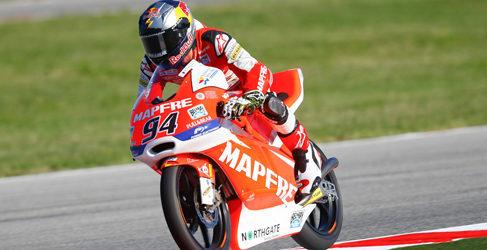 Alex Rins, con ritmo y muy rápido en los FP3 de Misano