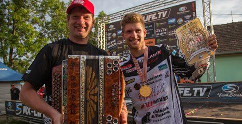 Klemen Gercar, campeón del mundo de MX3