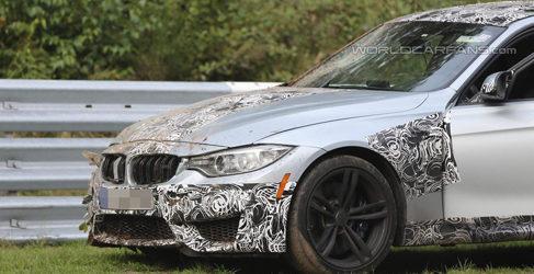 Un probador de BMW estrella un M3 2014 en Nürburgring