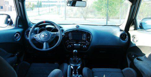 Probamos el Nissan Juke Nismo. Análisis del habitáculo y de la carrocería