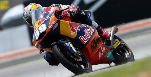Luis Salom resucita en los FP3 de Moto3 en Sepang