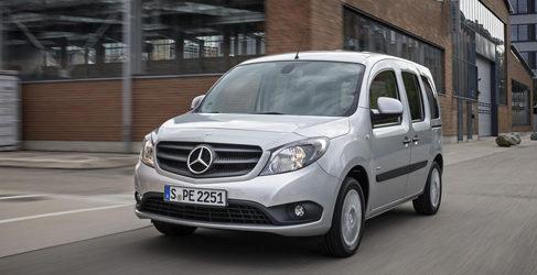 Mercedes sacará una nueva Citan, la Crewbus