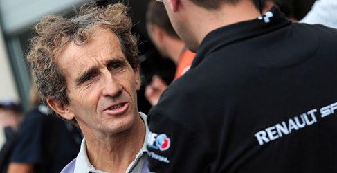 Alain Prost y DAMS de la mano en la Fórmula E