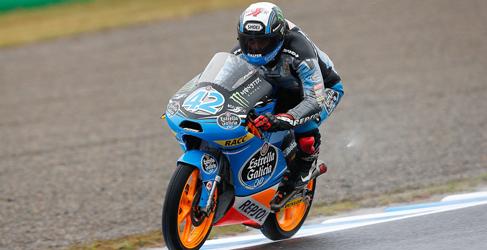 Alex Rins consigue la pole de Moto3 del GP de Japon