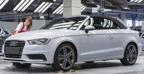 El nuevo Audi A3 Cabrio entra en producción