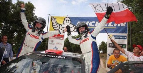 Robert Kubica Campeón del Mundo de la categoría WRC2