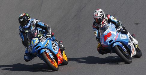 Salom, Rins y Viñales listos para la batalla final de Moto3