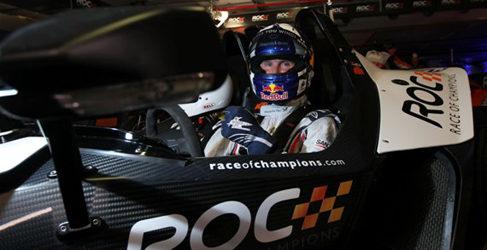 Susie Wolff y Coulthard en el Race of Champions 2013