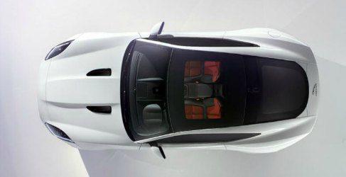 Jaguar nos enseña la primera imagen real del F-Type cupé