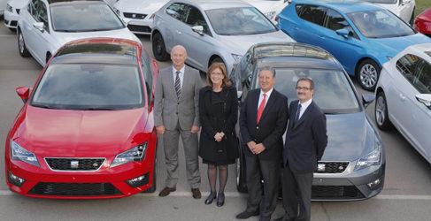 Seat dona 28 coches a distintos centros formativos