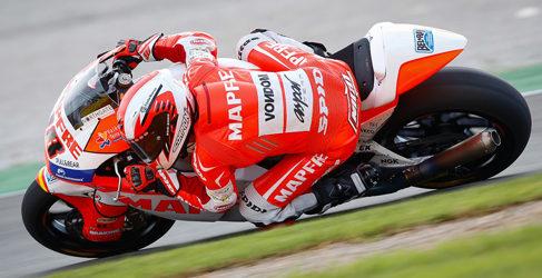 Viñales y Terol dominan el warm up de Moto2 y Moto3 en Valencia