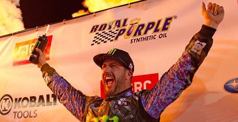 Ken Block gana en Las Vegas y cierra el Global Rallycross