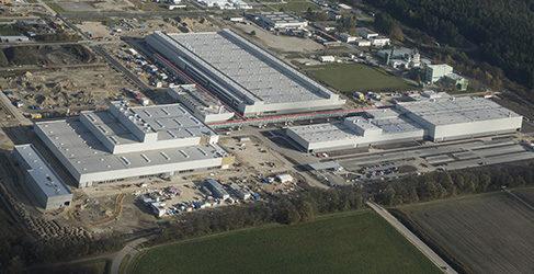 Audi amplía las instalaciones de Ingolstadt