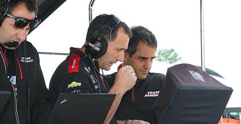 Juan Pablo Montoya se sube de nuevo a un IndyCar