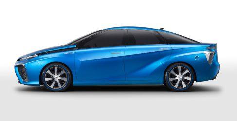 Toyota comercializará el concept FCV movido por hidrógeno