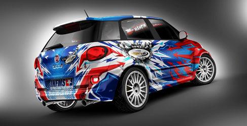 Fiat 500L 4WD, otra opción para el Global Rallycross